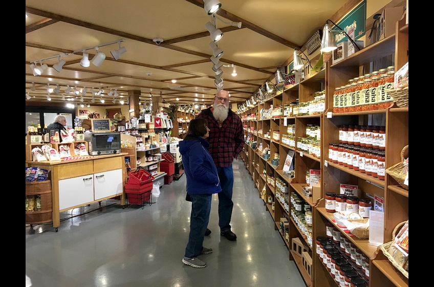 A visit to Fly Creek Cider Mill